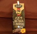 HAWAIIAN ISLAND KONA COFFEE CO.  100%KONA COFFEE  100% コナコーヒー 198g(粒)