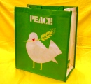 WHOLE FOODS エコバッグ PEACE